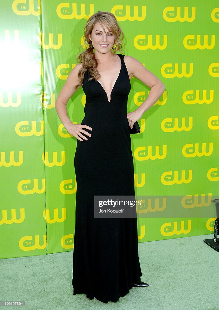 <a gi-track='captionPersonalityLinkClicked' href=/galleries/search?phrase=Erica+Durance&family=editorial&specificpeople=534466 ng-click='$event.stopPropagation()'>Erica Durance</a> during The CW Launch Party - Arrivals at WB Main Lot in Burbank, California, United States.