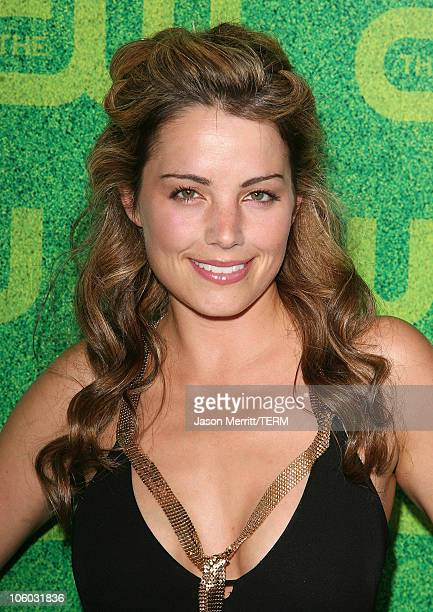Erica Durance during The CW's Summer 2006 TCA Party Arrivals at Ritz Carlton in Pasadena California United States