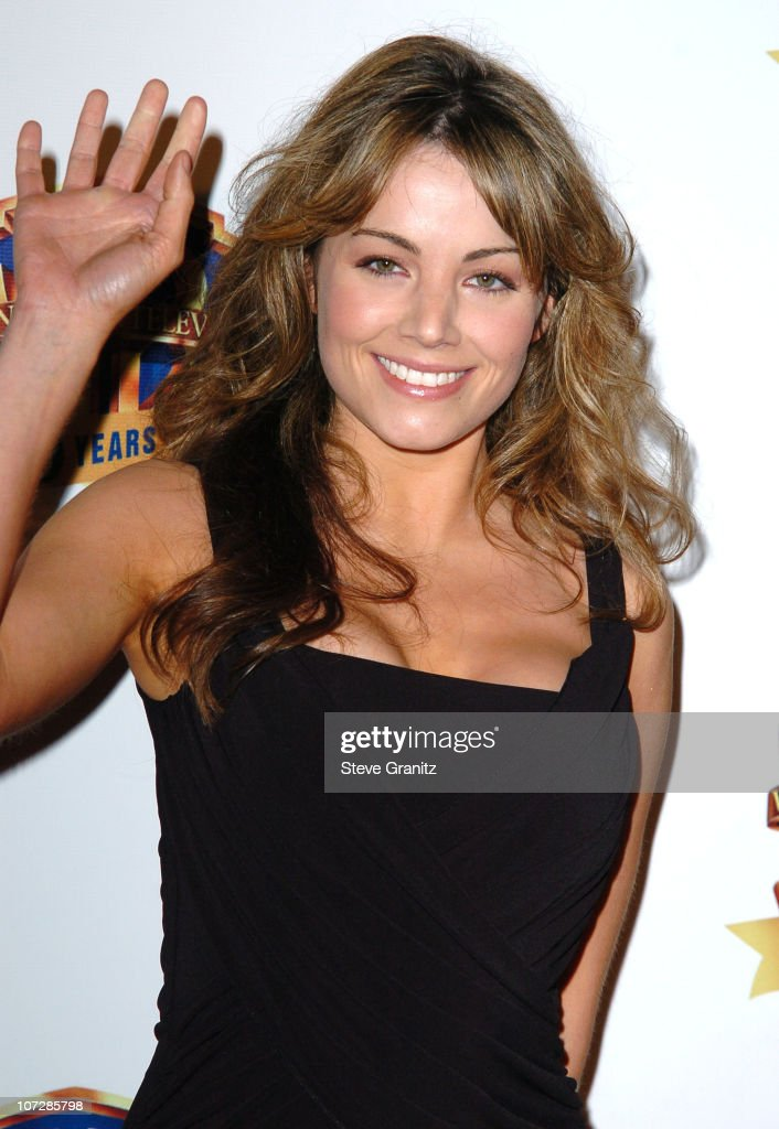 <a gi-track='captionPersonalityLinkClicked' href=/galleries/search?phrase=Erica+Durance&family=editorial&specificpeople=534466 ng-click='$event.stopPropagation()'>Erica Durance</a> during Warner Bros. Television And Warner Home Video Celebrate 50 Years Of Quality TV - Arrivals at Warner Bros. Studio in Burbank, California, United States.