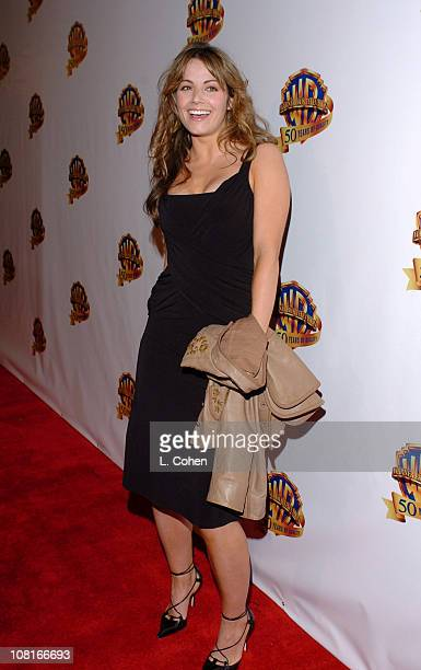 Erica Durance during Warner Bros Television and Warner Home Video Celebrate 50 Years of Quality TV Red Carpet at Warner Bros Lot Stage 6 in Burbank...