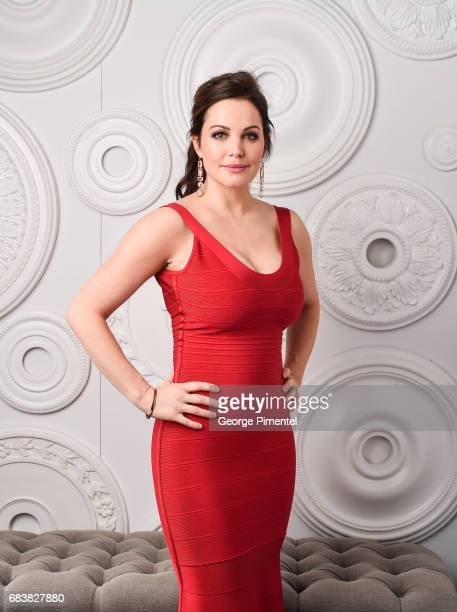 Erica Durance poses in the ETalk Portrait Studio at the 2017 Canadian Screen Awards at the Sony Centre For Performing Arts on March 12 2017 in...