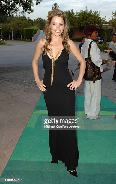 Erica Durance#13#10 during The CW Summer 2006 TCA Party Red Carpet at Ritz Carlton in Pasadena California United States