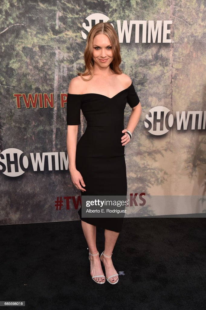 Erica Eynon attends the premiere of Showtime's 'Twin Peaks' at The Theatre at Ace Hotel on May 19, 2017 in Los Angeles, California.