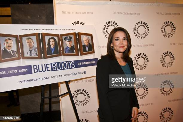 Erica Hill attends BLUE BLOODS CBS Show Premiere at The Paley Center For Media on September 22 2010 in New York City