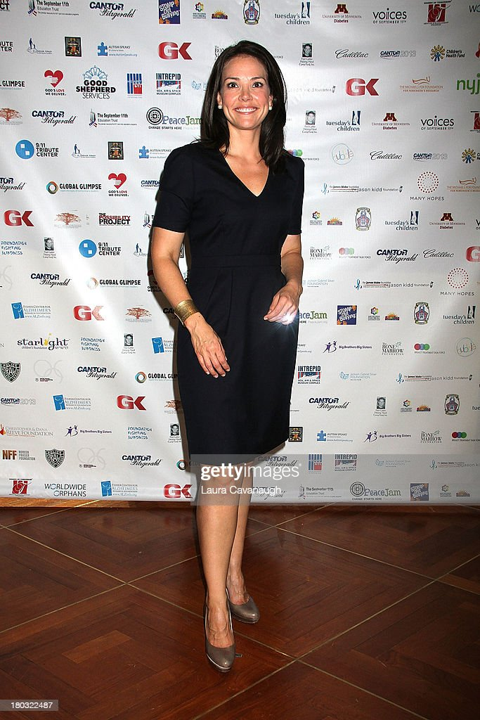 Erica Hill attends Cantor Fitzgerald And BGC Partners Annual Charity Day at Cantor Fitzgerald on September 11, 2013 in New York City.