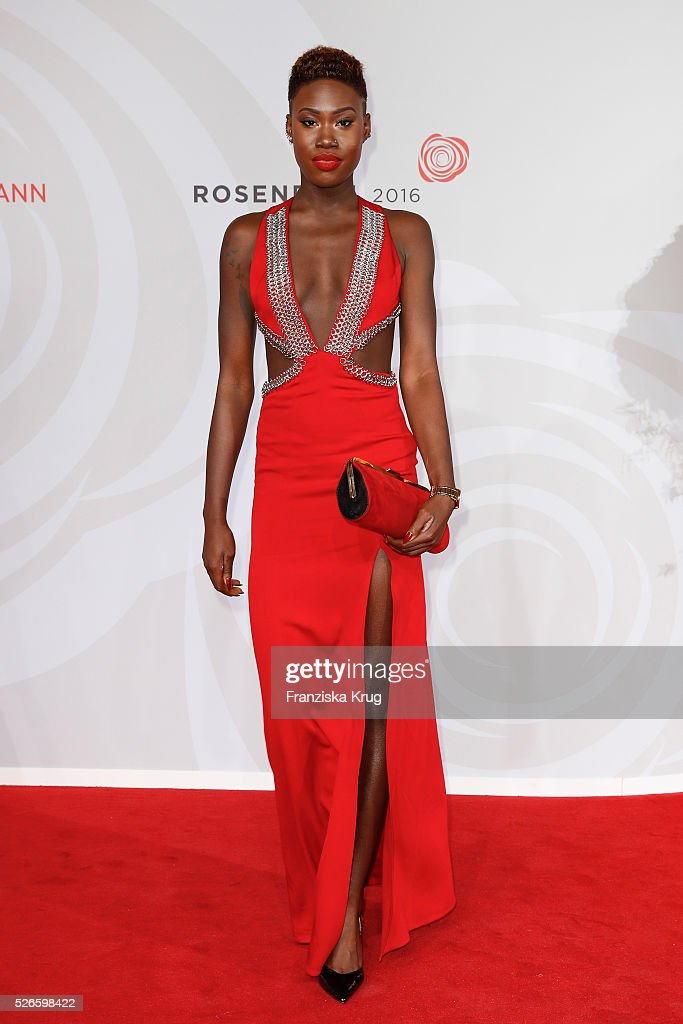 Erica Marley attends the Rosenball 2016 on April 30 in Berlin, Germany.