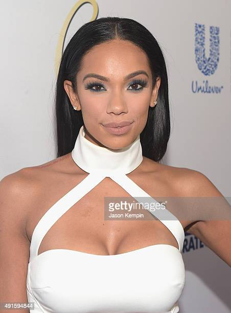 Erica Mena attends the Latina 'Hot List' Party hosted by Latina Media Ventures at The London West Hollywood on October 6 2015 in West Hollywood...