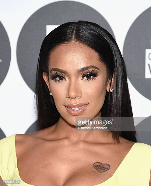 Erica Mena attends the People En Espanol's '50 Most Beautiful' 2015 Gala on May 12 2015 in New York City