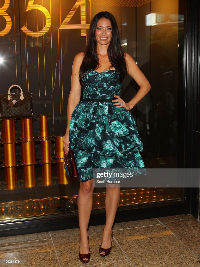 Erica Packer attends the Louis Vuitton Crown Melbourne store opening on October 28, 2010 in Melbourne, Australia.