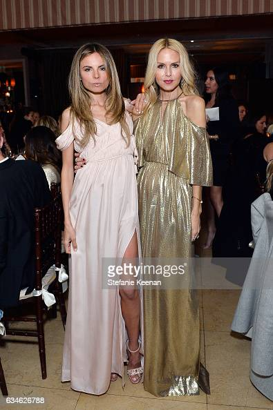 Erica Pelosini and Rachel Zoe attend Rachel Zoe's Los Angeles Presentation at Sunset Tower Hotel on February 6 2017 in West Hollywood California