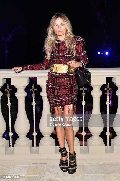 Erica Pelosini at BALMAIN celebrates first Los Angeles boutique opening and Beats by Dre collaboration on July 20 2017 in Beverly Hills California