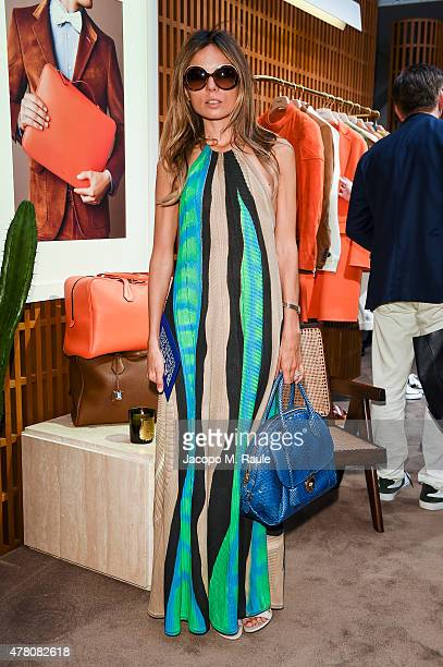 Erica Pelosini attended the Bally Men's Spring Summer 2016 Presentation in Milan 21st June 2015