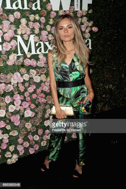 Erica Pelosini attends Max Mara Celebration of Zoey Deutch as The 2017 Women In Film Max Mara Face of The Future Award Recipient at Chateau Marmont...