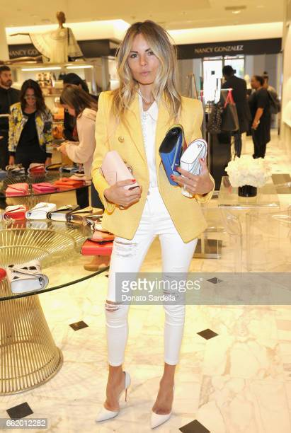Erica Pelosini attends Saks Fifth Avenue celebration of Elena Ghisellini's launch at Saks Fifth Avenue Beverly Hills on March 31 2017 in Beverly...