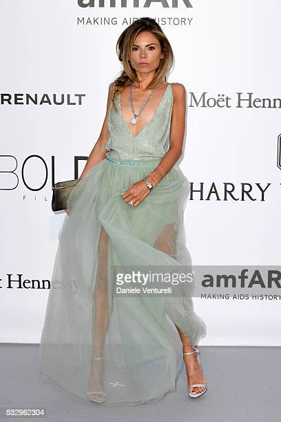 Erica Pelosini attends the amfAR's 23rd Cinema Against AIDS Gala at Hotel du CapEdenRoc on May 19 2016 in Cap d'Antibes France