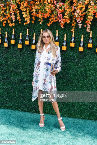 Erica Pelosini attends The Tenth Annual Veuve Clicquot Polo Classic Arrivals at Liberty State Park on June 3 2017 in Jersey City New Jersey