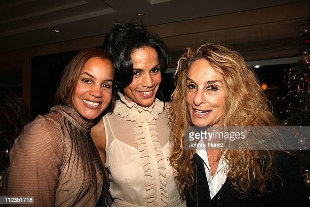 Erica Reid Crystal McCarary and Ann Jones during Erica Reid and Edmondo Castillo Host A Holiday Shopping Night to Support the Liya Kebede Foundation...