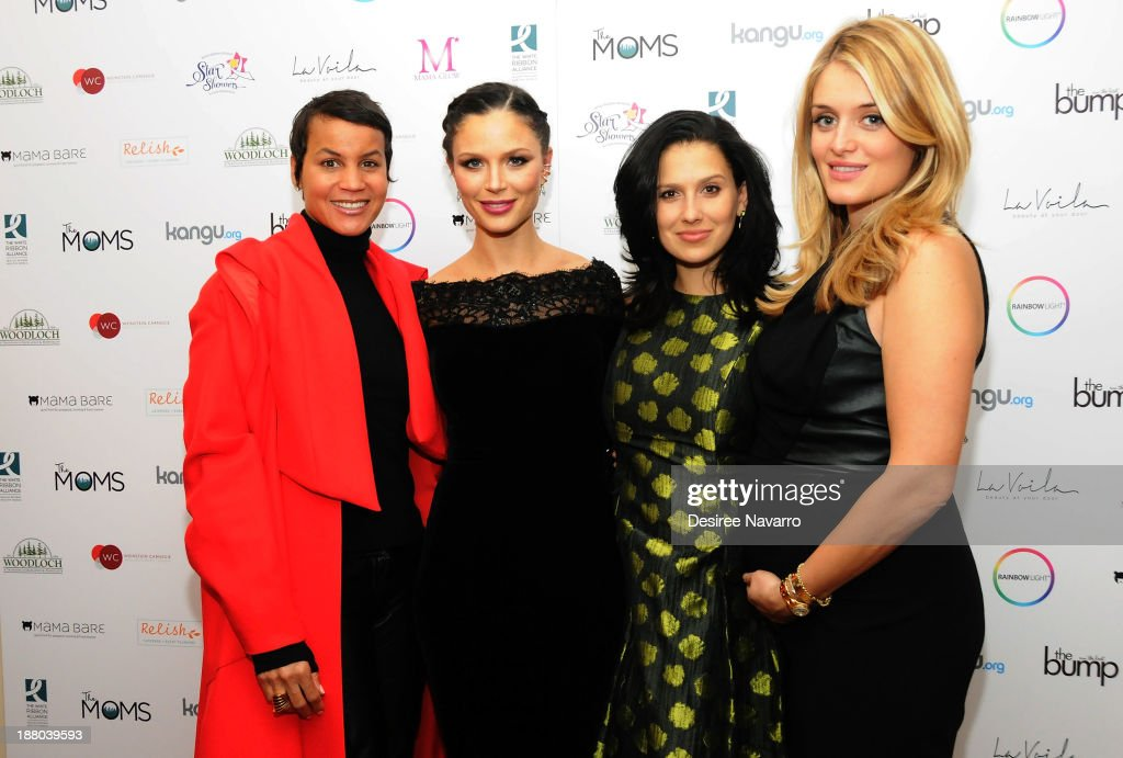 Erica Reid, Georgina Chapman, Hilaria Baldwin and Daphne Oz attend Star Showers: An Evening Celebrating the Expansion of Healthcare Services to Women Worldwide on November 14, 2013 in New York City.