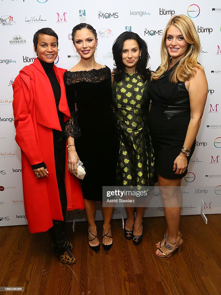<a gi-track='captionPersonalityLinkClicked' href=/galleries/search?phrase=Erica+Reid&family=editorial&specificpeople=669935 ng-click='$event.stopPropagation()'>Erica Reid</a>, Georgina Chapman, <a gi-track='captionPersonalityLinkClicked' href=/galleries/search?phrase=Hilaria+Baldwin&family=editorial&specificpeople=7856471 ng-click='$event.stopPropagation()'>Hilaria Baldwin</a> and <a gi-track='captionPersonalityLinkClicked' href=/galleries/search?phrase=Daphne+Oz&family=editorial&specificpeople=6264088 ng-click='$event.stopPropagation()'>Daphne Oz</a> attend Star Showers: An Evening Celebrating The Expansion Of Healthcare Services To Women Worldwide on November 14, 2013 in New York City.