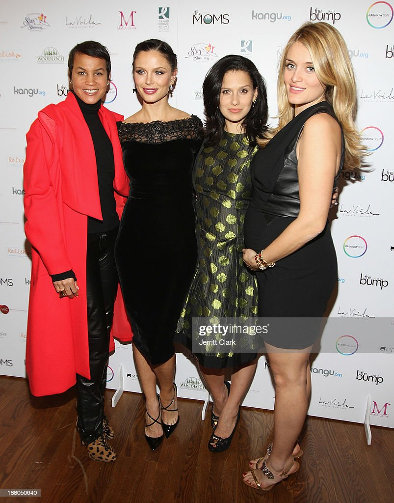 Erica Reid, Georgina Chapman, Hilaria Baldwin and Daphne Oz attends and evening celebrating the expansion of healthcare services to women worldwide on November 14, 2013 in New York City.