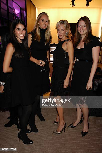 Erica Silverman Annie Buff Jackie Astier and Nancy Walsh attend Avenue Magazine and Chanel Celebrate 80th Anniversary of the 'Little Black Dress' at...