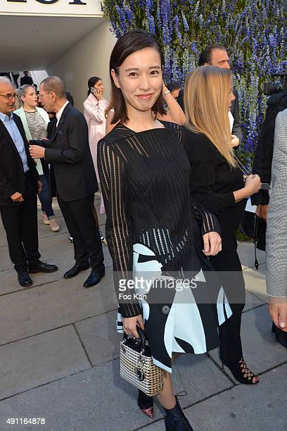 Erica Toda attends the Christian Dior show as part of the Paris Fashion Week Womenswear Spring/Summer 2016 on October 2 2015 in Paris France