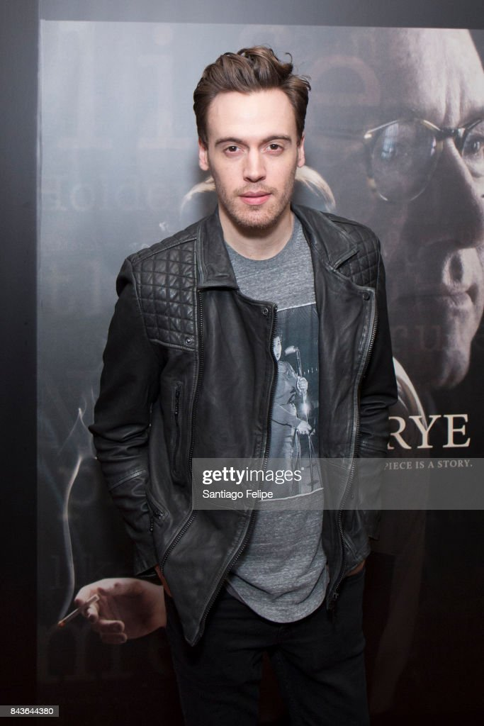 Erich Bergen attends 'Rebel In The Rye' New York Premiere at Metrograph on September 6, 2017 in New York City.