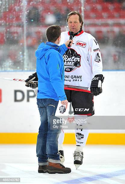 Erich Khnhackl during DEL Wintergame between Thomas Sabo Ice Tigers Nuernberg and Eisbaren Berlin on january 05 2013 in Nuernberg Germany