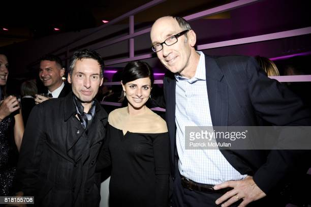 Erich Schoenenberger Erin Bezos and Robert King attend THE HUGO BOSS PRIZE Annual Party 2010 at Solomon R Guggenheim Museum on November 4 2010