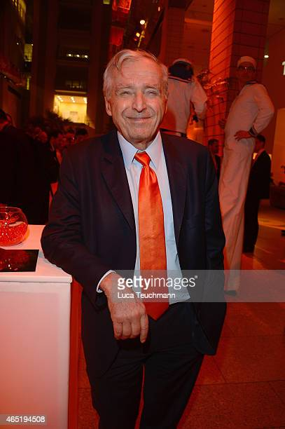 Erich Sixt attends The Night The Winners Meet Party Hosted By Sixt on March 3 2015 in Berlin Germany