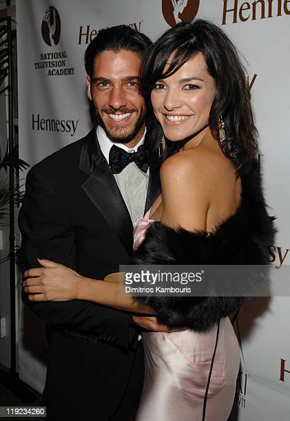 Erick Elias and Candela Ferro during Hennessy Official After Party for the Latin Emmy's at Nikki Midtown in New York City New York United States