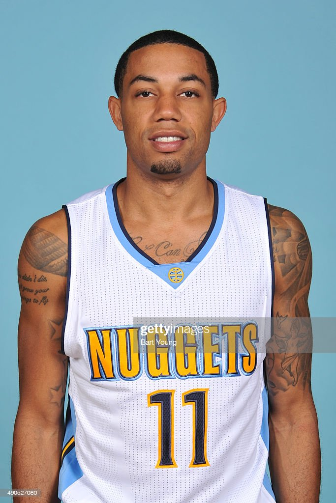 <a gi-track='captionPersonalityLinkClicked' href=/galleries/search?phrase=Erick+Green&family=editorial&specificpeople=7348606 ng-click='$event.stopPropagation()'>Erick Green</a> #11 of the Denver Nuggets poses for a head shot on September 28, 2015 at the Pepsi Center in Denver, Colorado.