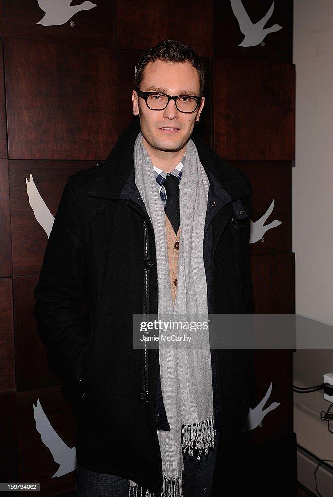 Erick Macek at the Grey Goose Blue Door on January 20, 2013 in Park City, Utah.