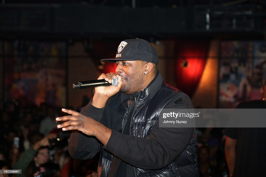 Erick Sermon performs at Waka Flocka's 'Thank You To Hip Hop' concert at BB King on February 21, 2013, in New York City.