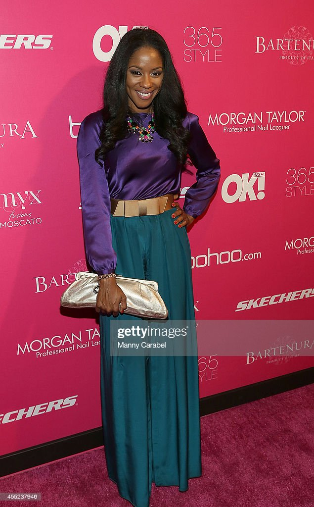 Ericka Pittman attends Ok Magazine's 8th Annual NY Fashion Week Celebration at VIP Room NYC on September 10 2014 in New York City