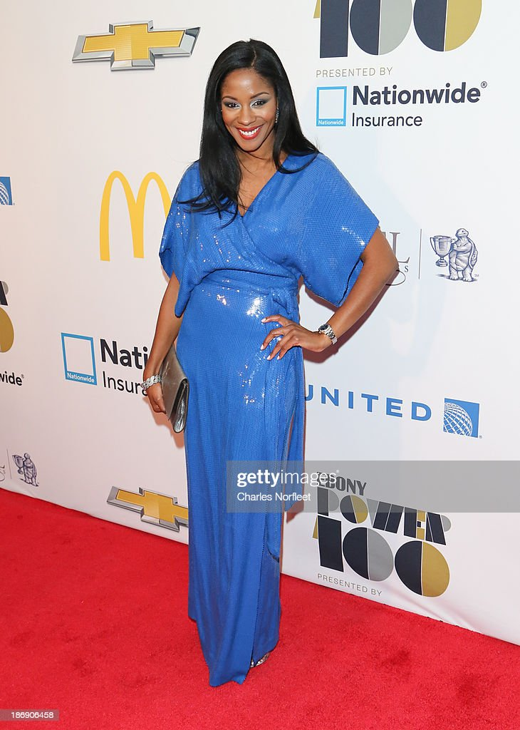 Ericka Pittman, VP at the Blue Flame Agency attends the 2013 EBONY Power 100 List Gala at Frederick P. Rose Hall, Jazz at Lincoln Center on November 4, 2013 in New York City.