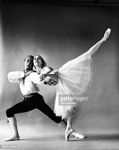 Erik Bruhn and Maria Tallchief in American Ballet Theatre's 'Flower Festival at Genzano' in 1961