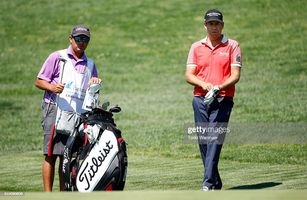 <a gi-track='captionPersonalityLinkClicked' href=/galleries/search?phrase=Erik+Compton&family=editorial&specificpeople=3450396 ng-click='$event.stopPropagation()'>Erik Compton</a> waits to play his shot on the eighth green during the second round of the Barracuda Championship at the Montreux Golf and Country Club on July 1, 2016 in Reno, Nevada.