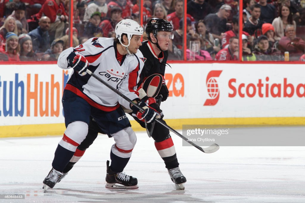 Washington Capitals v Ottawa Senators
