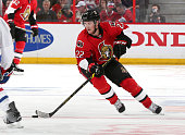 Erik Condra of the Ottawa Senators skates against the Montreal Canadiens in Game Three of the Eastern Conference Quarterfinals during the 2015 NHL...