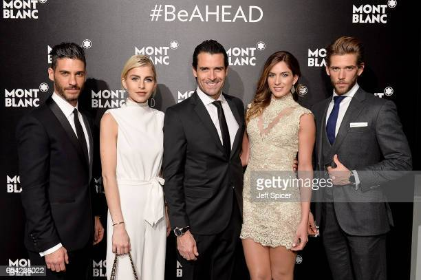 Erik Elias Caro Dauer Rafael Novoa Adriana Tarud and Ben Dahlhaus attend the Montblanc Summit launch event at The Ledenhall Building on March 16 2017...