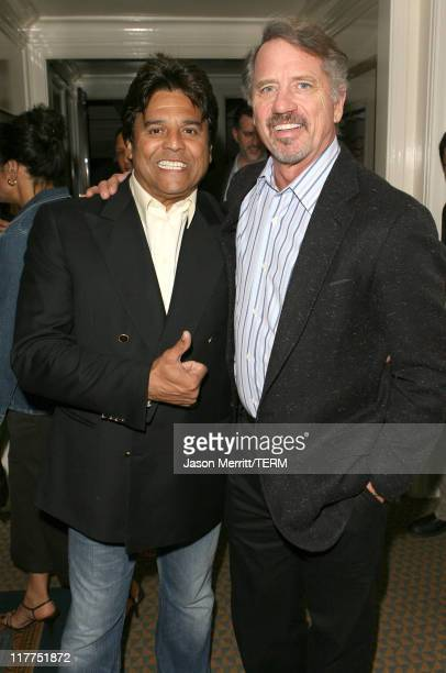 Erik Estrada and Tom Wopat during 2006 TV Land Awards Affiliate Dinner at Shutters on the Beach in Santa Monica California United States