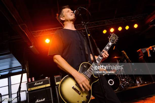 Erik Funk of Dillinger Four performs at House of Vans Chicago on June 22 2017 in Chicago Illinois