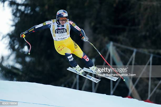 Erik Guay of Canada competes during the Audi FIS Alpine Ski World Cup Men's SuperG on December 16 2016 in Val Gardena Italy