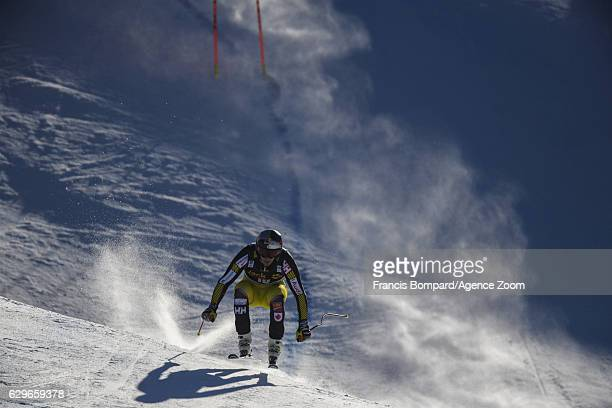 Erik Guay of Canada in action during the Audi FIS Alpine Ski World Cup Men's Downhill Training on December 14 2016 in Val Gardena Italy