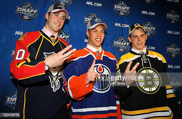 Erik Gudbranson drafted third overall by the Florida Panthers Taylor Hall drafted overall by the Edmonton Oilers and Tyler Seguin drafted second...