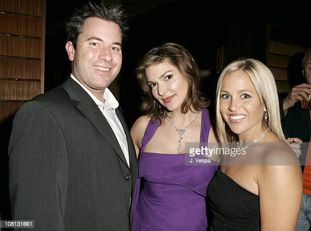 Erik Halfacre Laura Harring and Natalie Halfacre during Hollywood Life and the Cast of The OC Support helpterrorvictimsorg Sponsored by Elara...