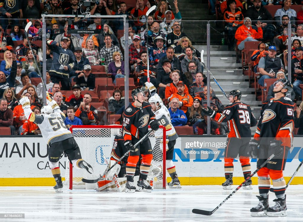 Vegas Golden Knights v Anaheim Ducks