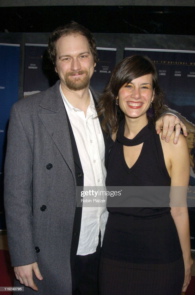 Erik Jensen and Jessica Blank, writers during Court TV's Original Movie 'The Exonerated' New York City Premiere at Museum of Television and Radio in New York City, New York, United States.
