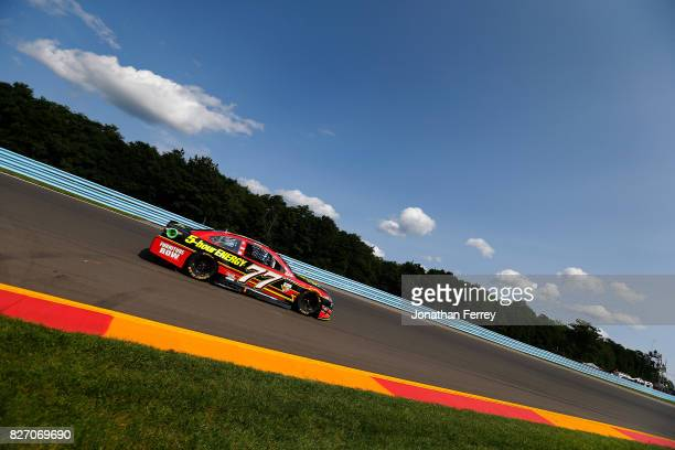 Erik Jones driver of the 5hour ENERGY Extra Strength Toyota drives during the Monster Energy NASCAR Cup Series I Love NY 355 at The Glen at Watkins...